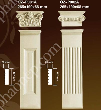 Cột trang trí PU